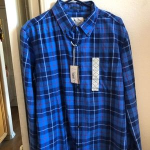 NWT St John's Bay Flannel Shirt